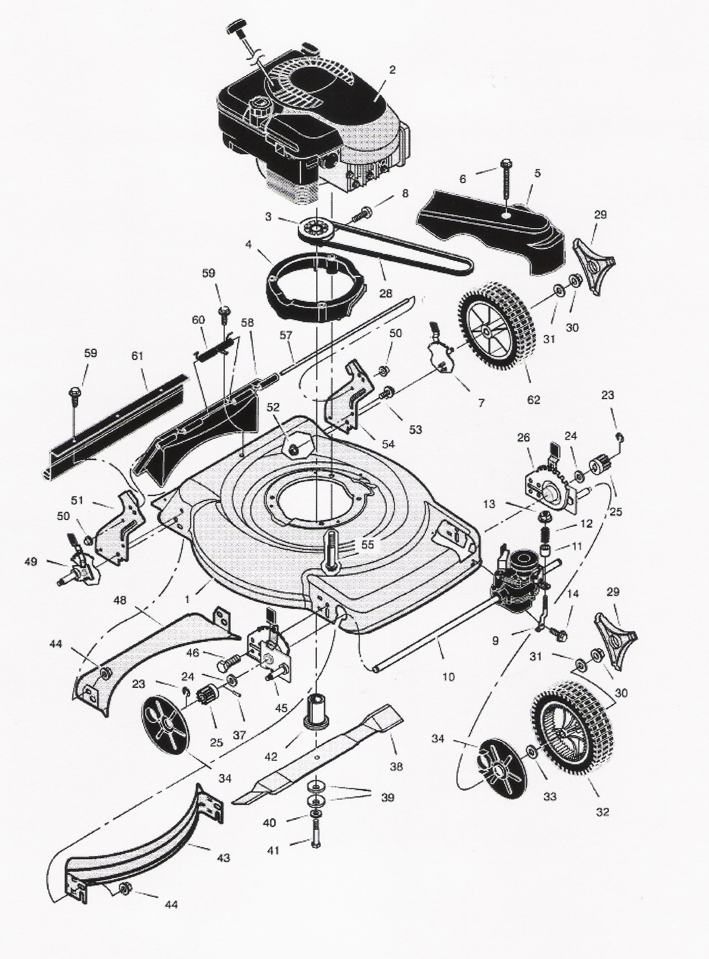 Wiring Diagram For Scotts Riding Lawn Mower Schematics White Tractor Battery A Poulan Pro